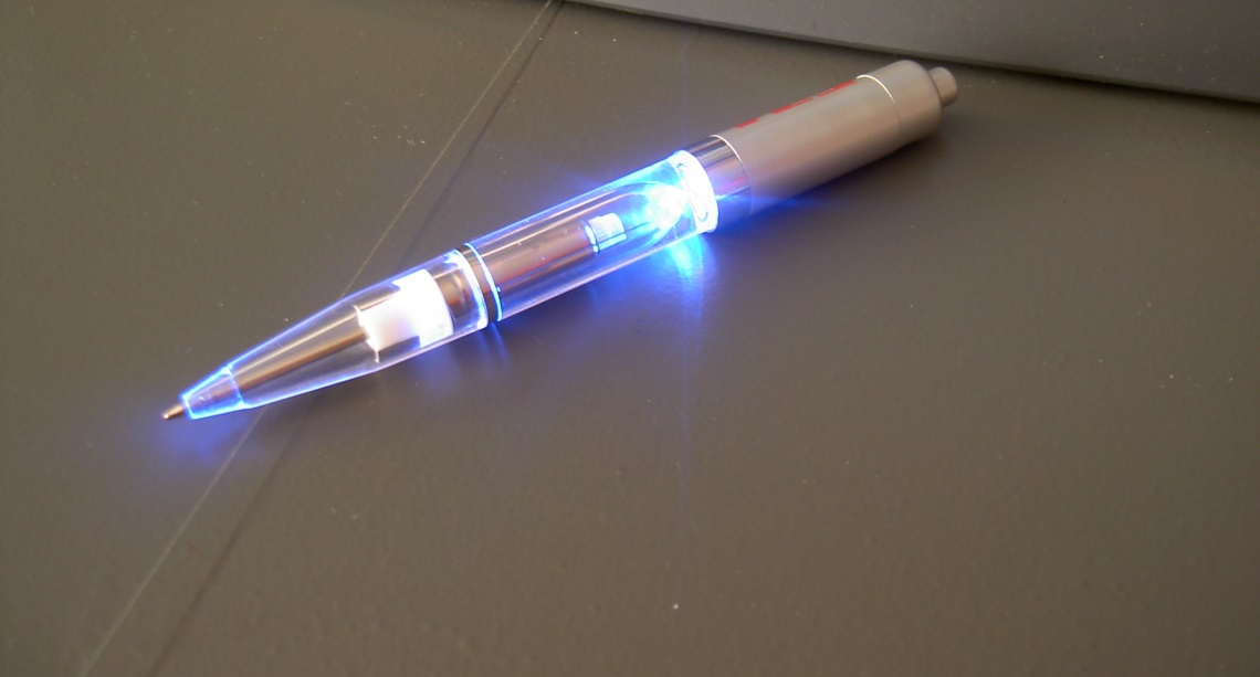Verrückte Kugelschreiber
