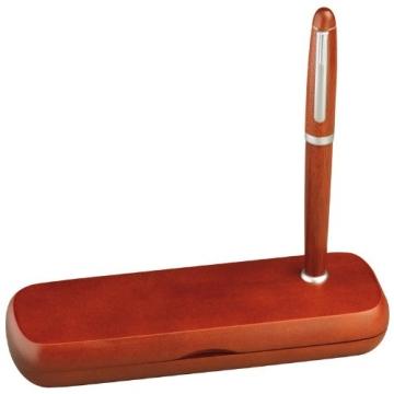 Edles Holz-Schreibset bestehend aus Kugelschreiber und Füllfederhalter + GM-IT Kugelschreiber - 3
