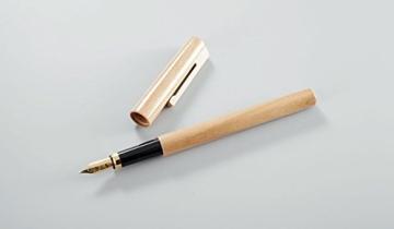 Füller mit Konverter aus Holz Füller natur (Kirsche geölt) - 2
