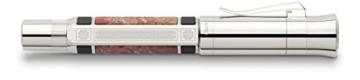Graf von Faber Castell Pen of the Year 2014 Kolbenfüllfederhalter mit Schaft aus Bernstein Feder M - 2