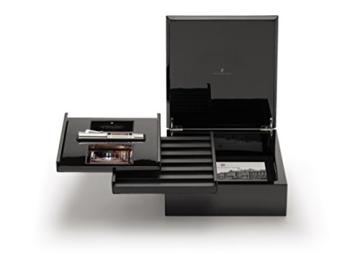 Graf von Faber Castell Pen of the Year 2014 Kolbenfüllfederhalter mit Schaft aus Bernstein Feder M - 5