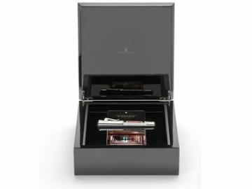 Graf von Faber Castell Pen of the Year 2014 Kolbenfüllfederhalter mit Schaft Jaspis Feder BB - 2