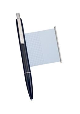 Kugelschreiber mit Spickzettel