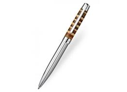 Edler Laban African Wood Kugelschreiber Sterlingsilber