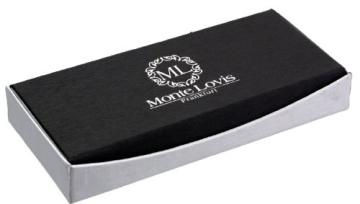 Luxus Füllfederhalter / Designer Füller von Monte Lovis - Klassiker einmal NEU - Inkl. edles Etui - Ideales Geschenkset - 6