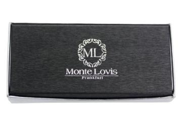 Monte Lovis - Luxus Füller / Edler Füllfederhalter in Schwarz - Schreibset: Füller & edles Etui - 6