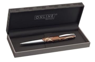 Hochwertiger Kugelschreiber mit Swarovski Kristallen