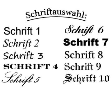 Schreibset Borkum - Braun inkl. Wunschgravur mit Geschenkbox aus Holz / Glas - 5