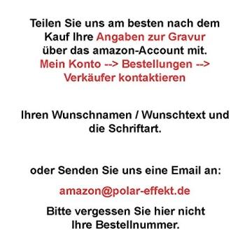 Schreibset Borkum - Braun inkl. Wunschgravur mit Geschenkbox aus Holz / Glas - 6