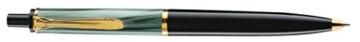 Pelikan 983189 Druckkugelschreiber Classic K200, grün-marmoriert - 1