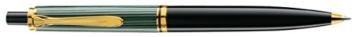 Pelikan 985267 Druckkugelschreiber Souverän K 400, schwarz/grün - 1