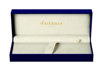 Waterman 1904599 Hémisphère-Füllfederhalter (mittelstarke Feder, Lack blue Obsession mit Palladiumzierteilen, blaue Tinte) - 5
