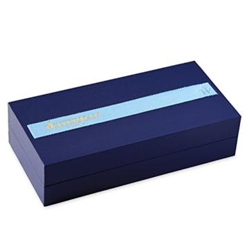 Waterman S0637040 Kugelschreiber Exception Slim Lack schwarz S.C, Strichbreite M, schreibfarbe blau - 5