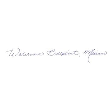 Waterman S0830760 Perspective-Kollektion Kugelschreiber (StrichstärkeM, Chromverzierung) schwarz - 4